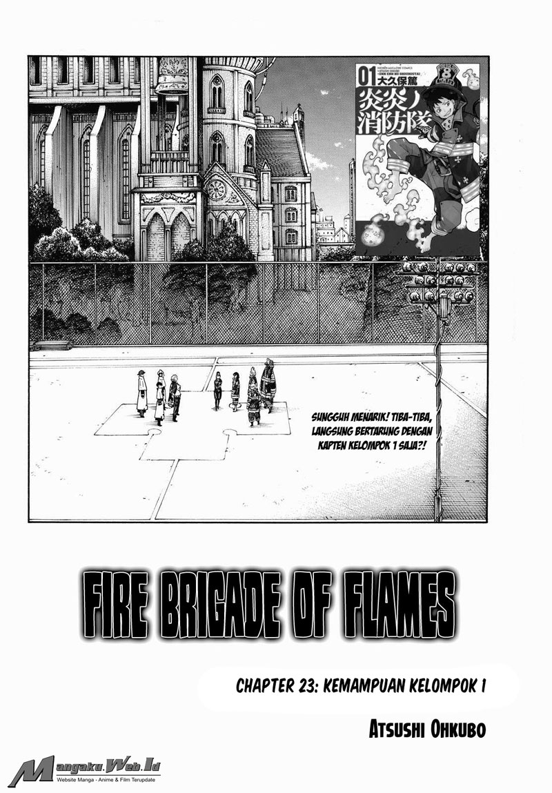 Fire Brigade of Flames Chapter 23-2