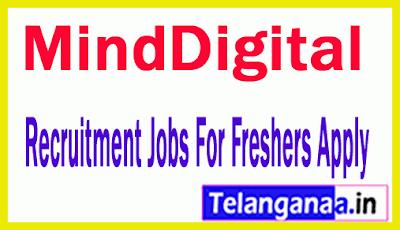 MindDigital Recruitment Jobs For Freshers Apply