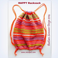 how to crochet, ruckack, backpack, drawstring bag, free crochet pattern,