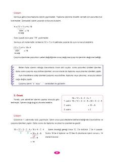 6. Sınıf Matematik Berkay Yayınları Sayfa 20