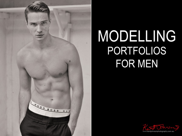 Male modelling, model portfolios studio and location for men by Kent Johnson, Sydney, Australia.