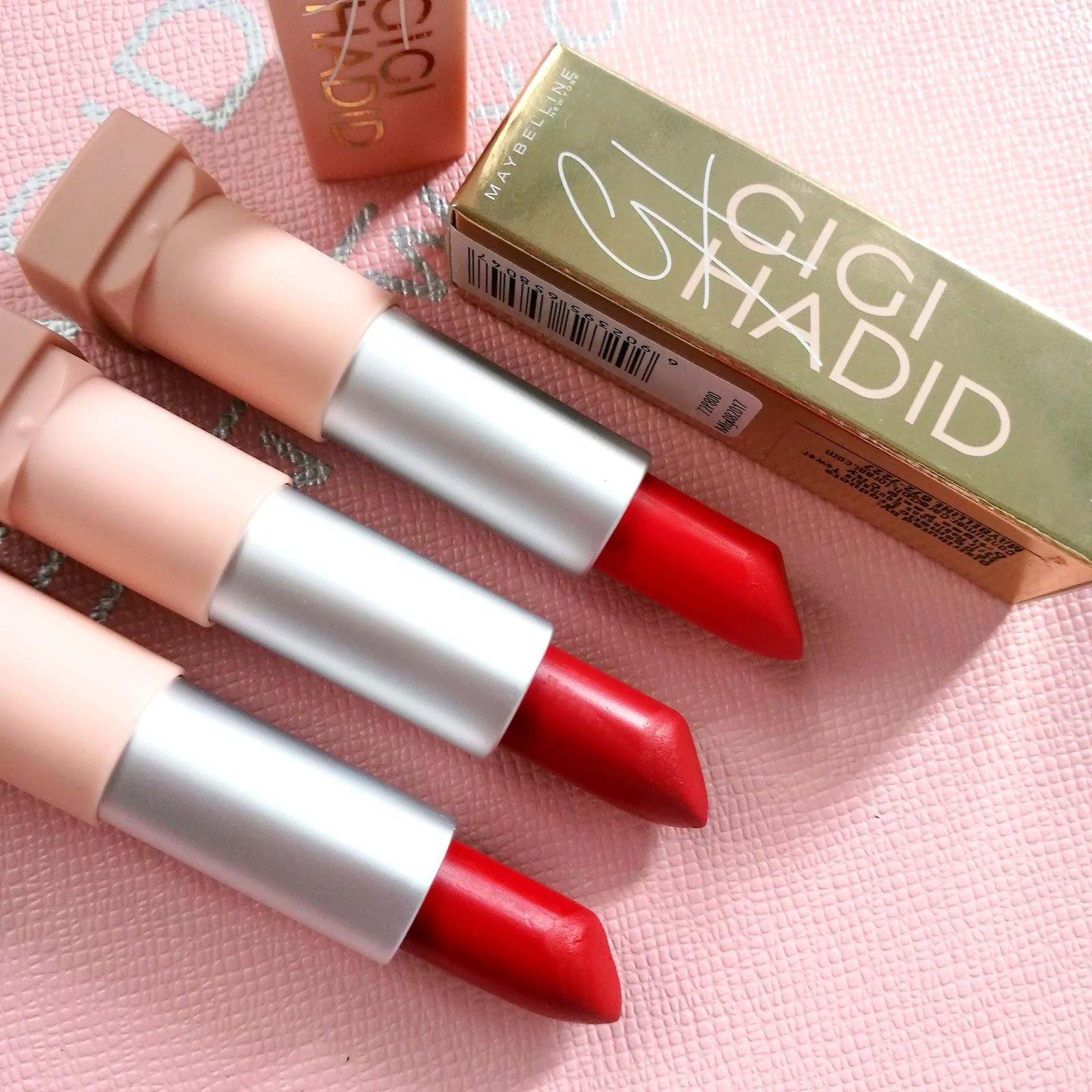 Gigi Hadid Makeup Collection Review Makeupviewco