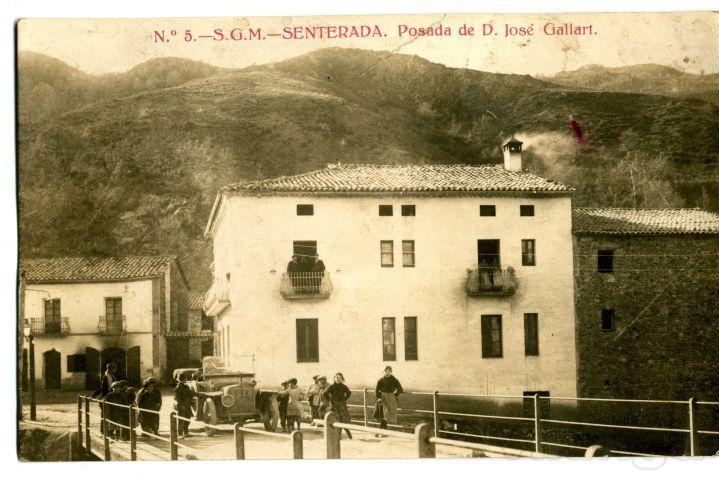 Antics hostals de cam ral hostal de josep gallart casa - Casa leonardo senterada ...