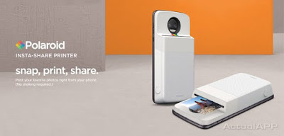 Motorola lanza el Moto Mod de una impresora Polaroid