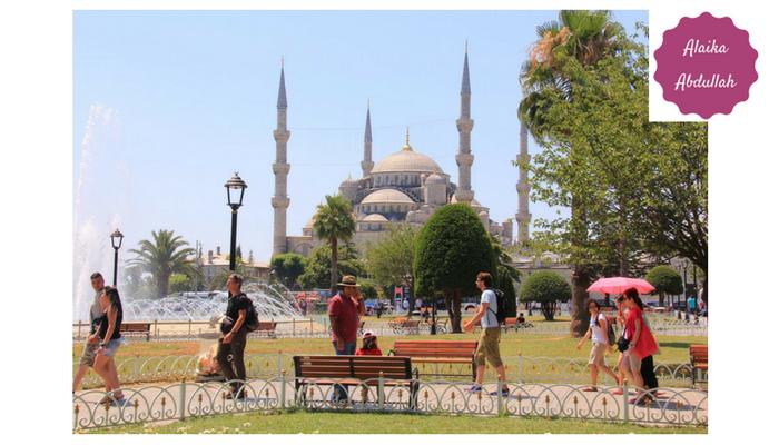 Istanbul mesjid biru