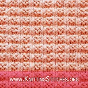 Ridge Rib stitch | Knitting Stitches | Knitting Stitch Patterns