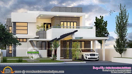 4 bedroom modern contemporary home