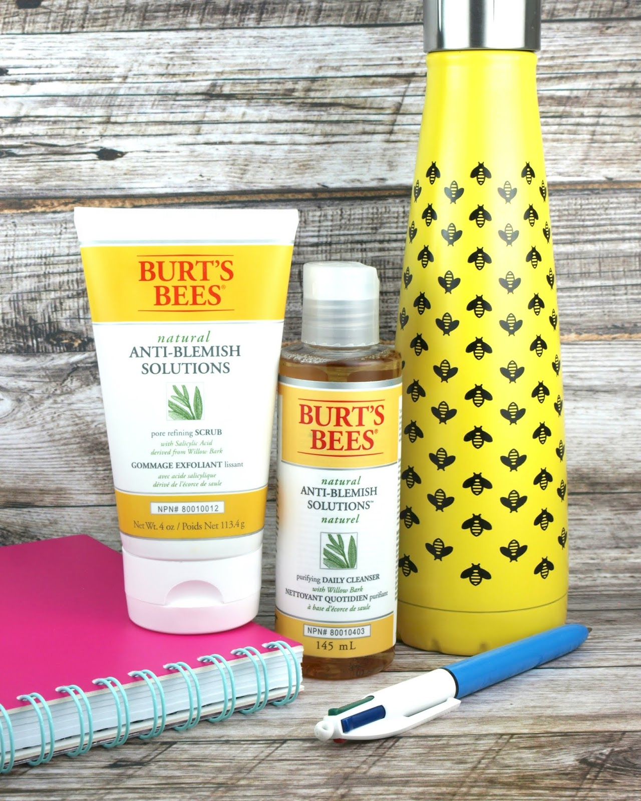 Burt's Bees | Natural Anti-Blemish Solutions Cleanser & Scrub: Review