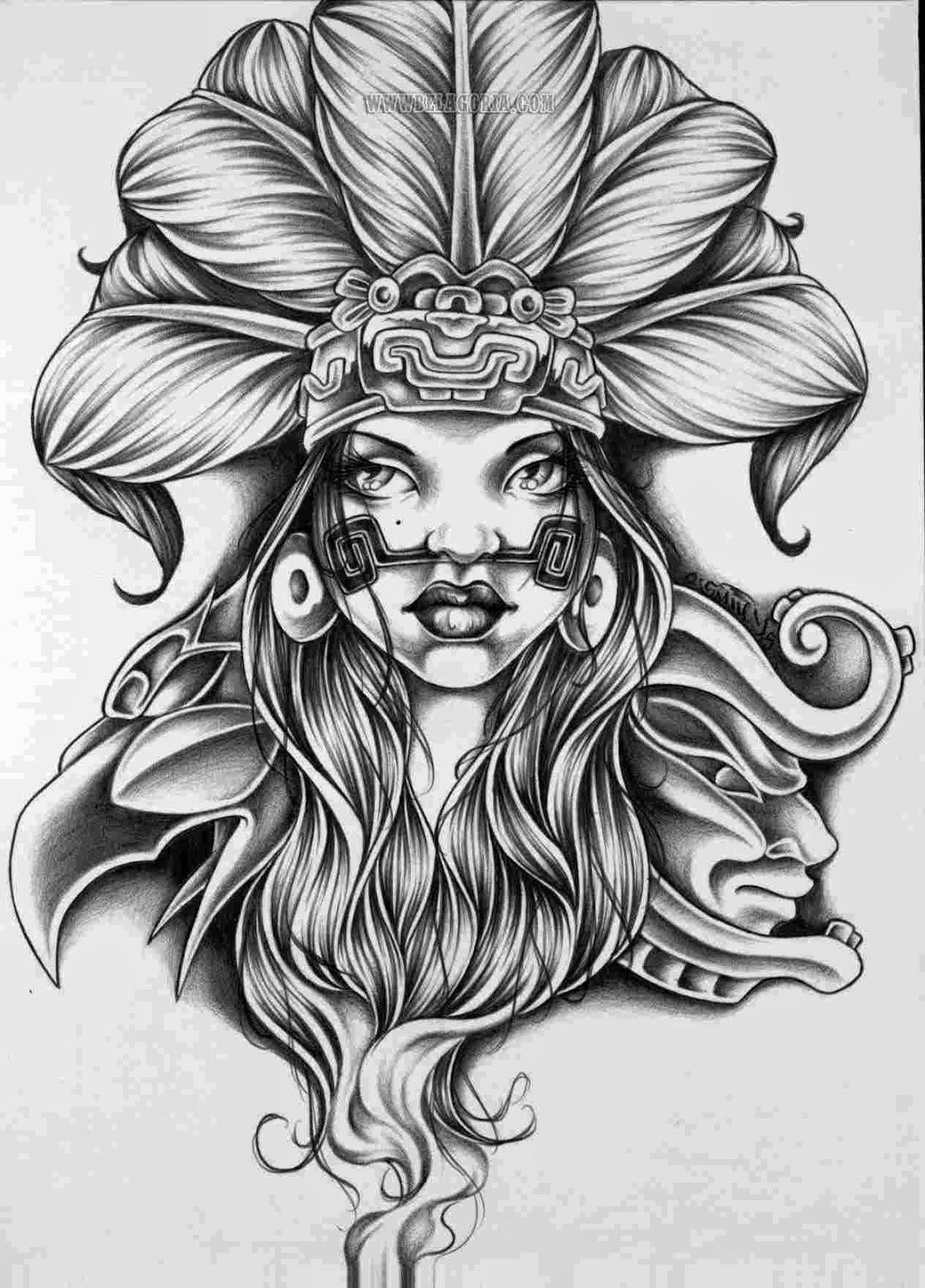 Diseños Aztecas Exclusivos 2 Belagoria La Web De Los Tatuajes