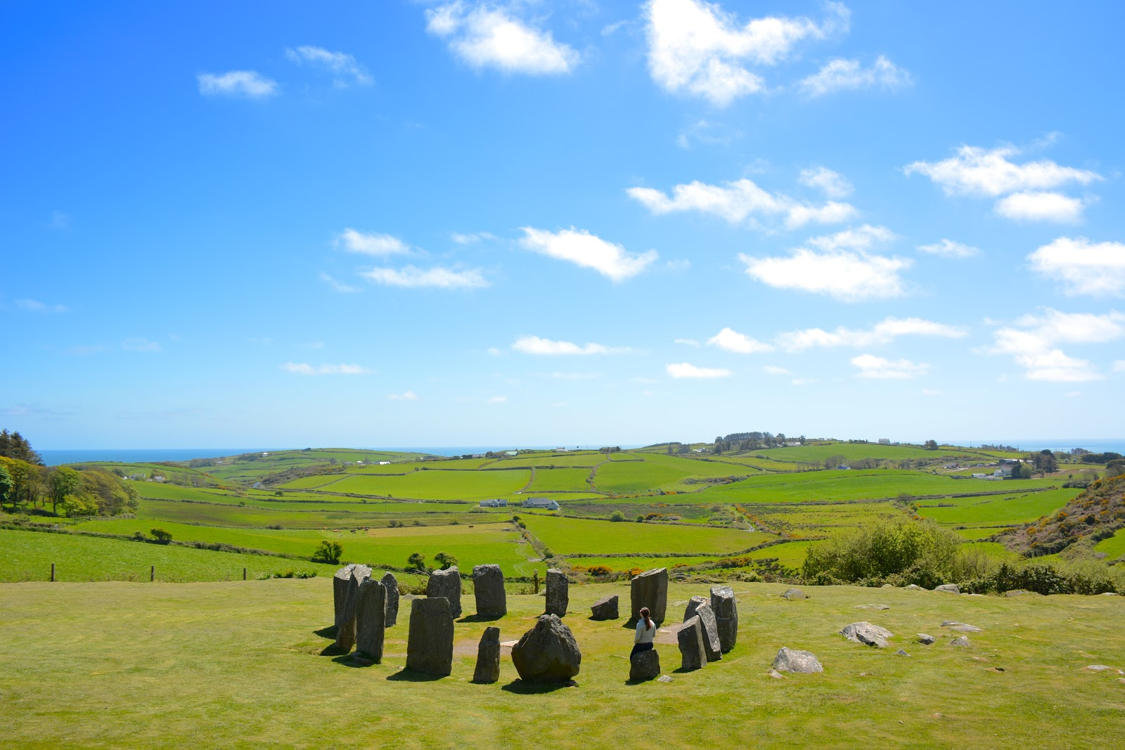 Drombeg Stone Circle in County Cork, Ireland