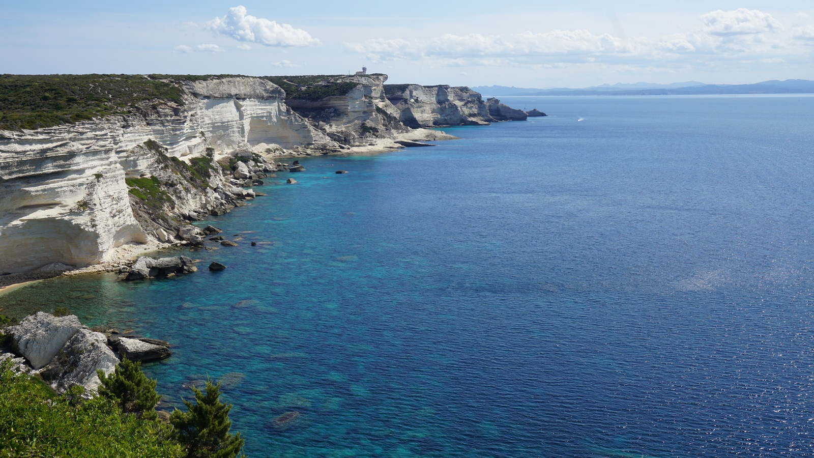 Cliffs east of Bonifacio