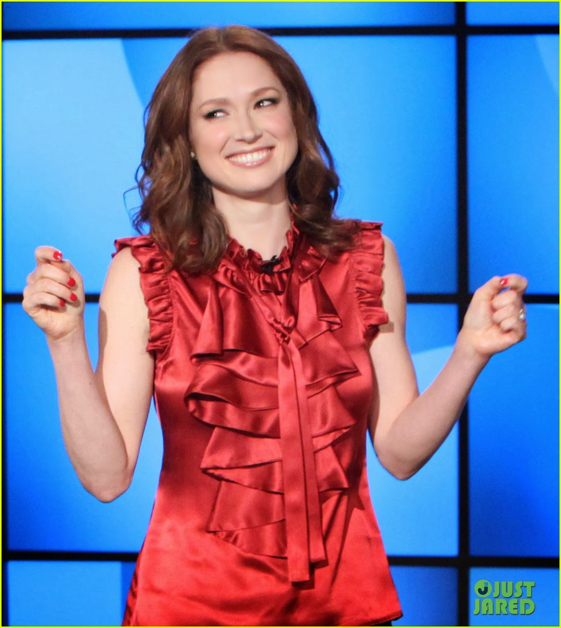 Talk Show Office Interior Design: Ladies In Satin Blouses: Ellie Kemper