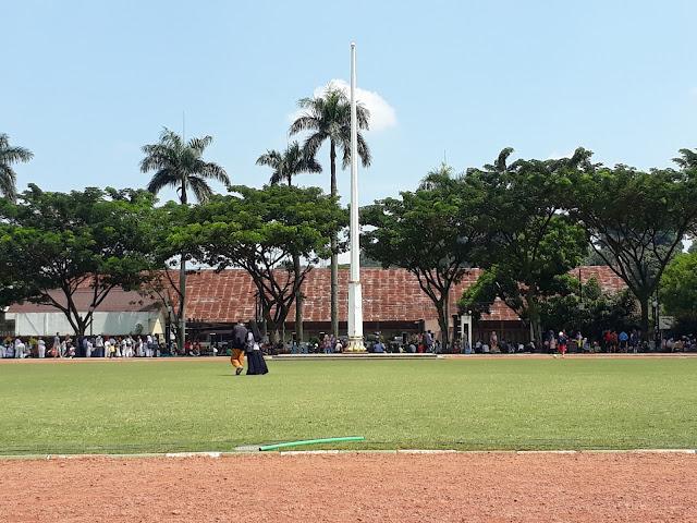 Lapangan Sempur Biasa dipakai Upacara Bendera