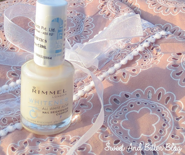 Rimmel London Whitener All White Now Nail Brightening Complex