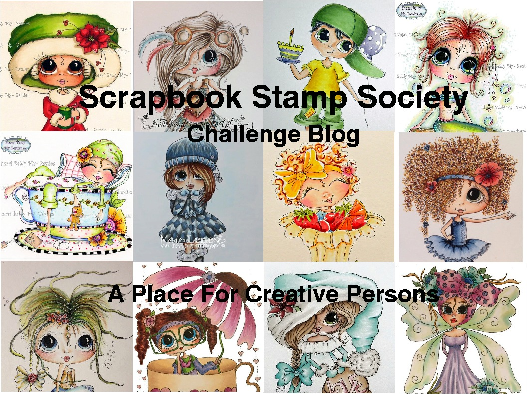 Scrapbook Stamp Society Challenge