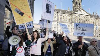Protestaron la agrupación peruca Hijos para liberar a Milagro Sala ¿querrán protestar para liberar al intendente de itatí?