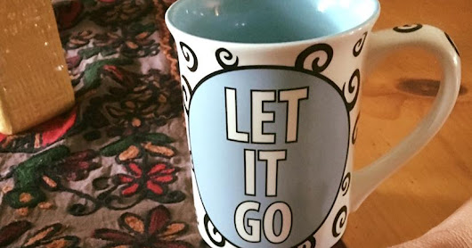 Writer's Lessons: Learning to Let it Go