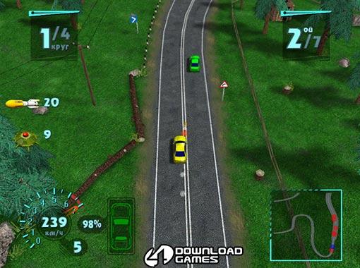 لعبة حرب السيارات والسباق Arcade Race Crash