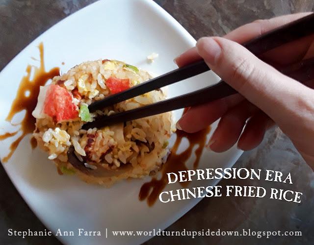 Depression Era Chinese Fried Rice Recipe WWII