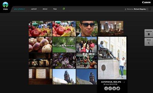 Canon Irista, 10 trang web lưu trữ và chia sẻ hình ảnh tốt nhất