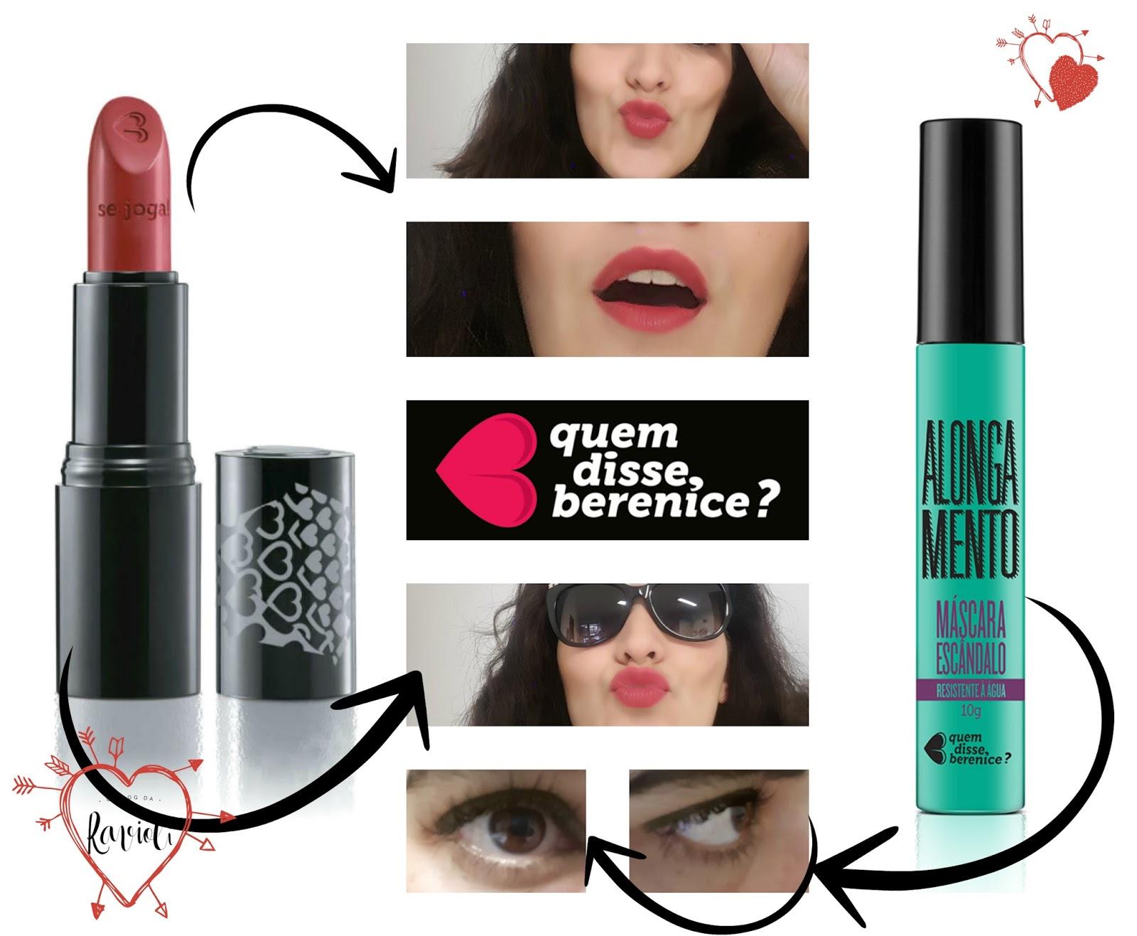 A Ravioli: Quem disse Berenice? - Makeup review