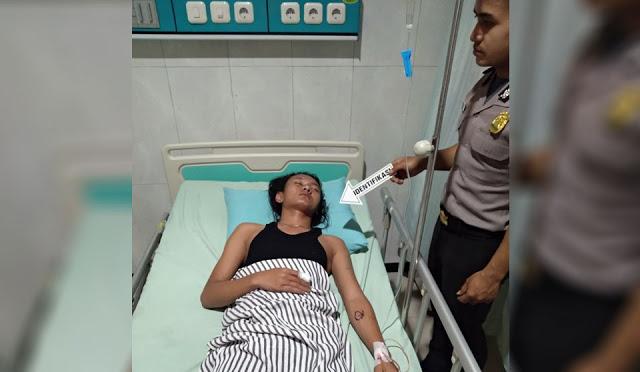 Kondisi korban saat dirawat di RSUD