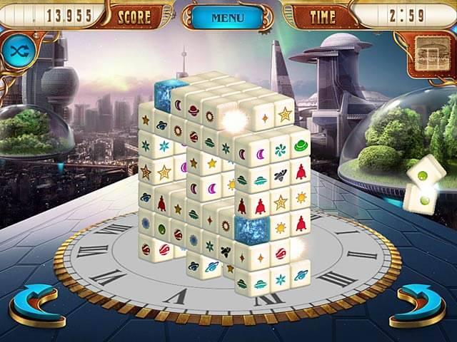 Δωρεάν τρισδιάστατο παιχνίδι Mahjong