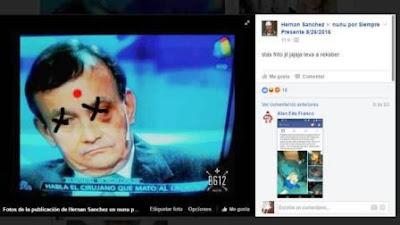 """El expediente se abrió después de que Infobae diera a conocer la publicación que hizo en la red social el hermano de Ricardo Krabler, alias """"El Nunu"""""""