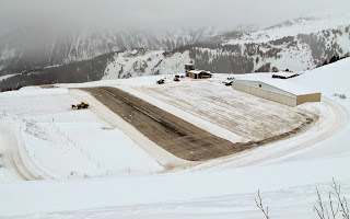 Courchevel airport pics