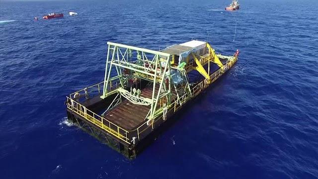 انتاج الطاقة الكهربائي من التيار البحري في تايوان