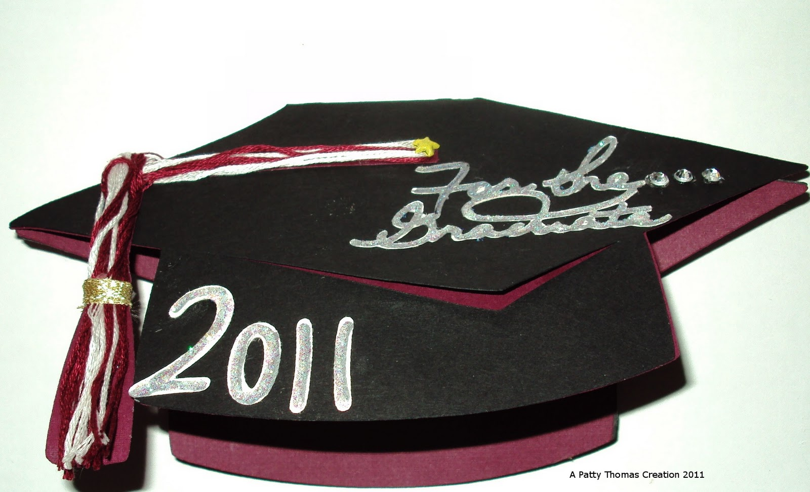 patty's handmade cards and crafts graduation card using
