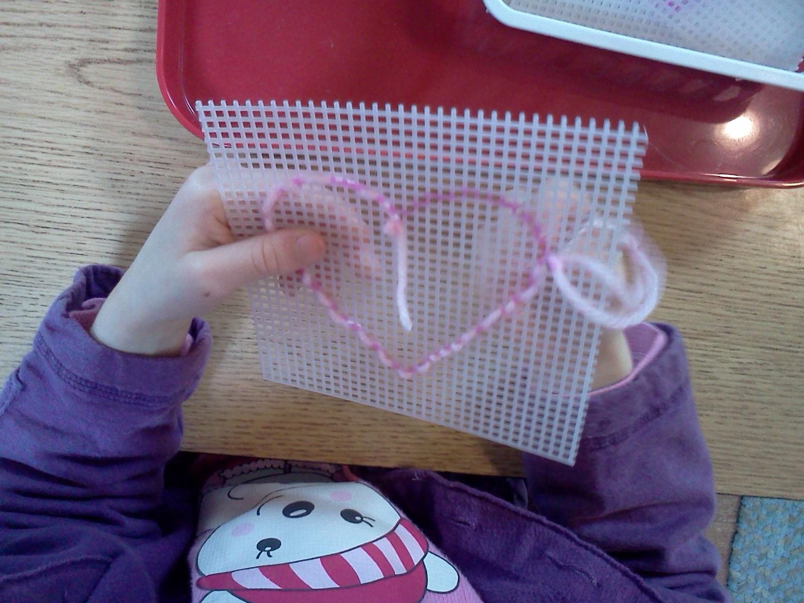 Montessori Design Heart Sewing