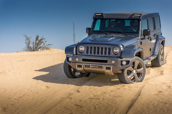 Jeep Wrangler preparado por Hofele Design