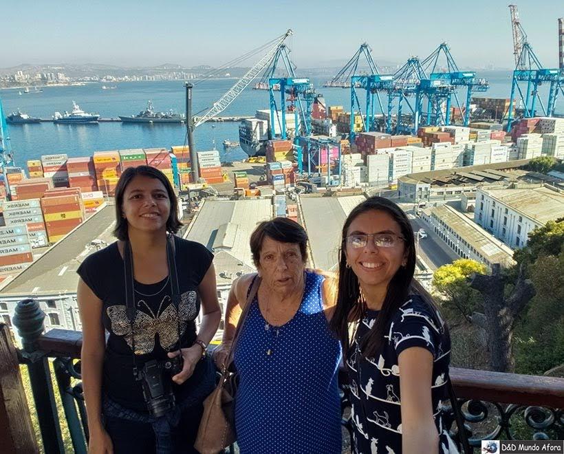 Vista do Paseo 21 de Mayo em Valparaíso- O que fazer em Valparaíso em algumas horas
