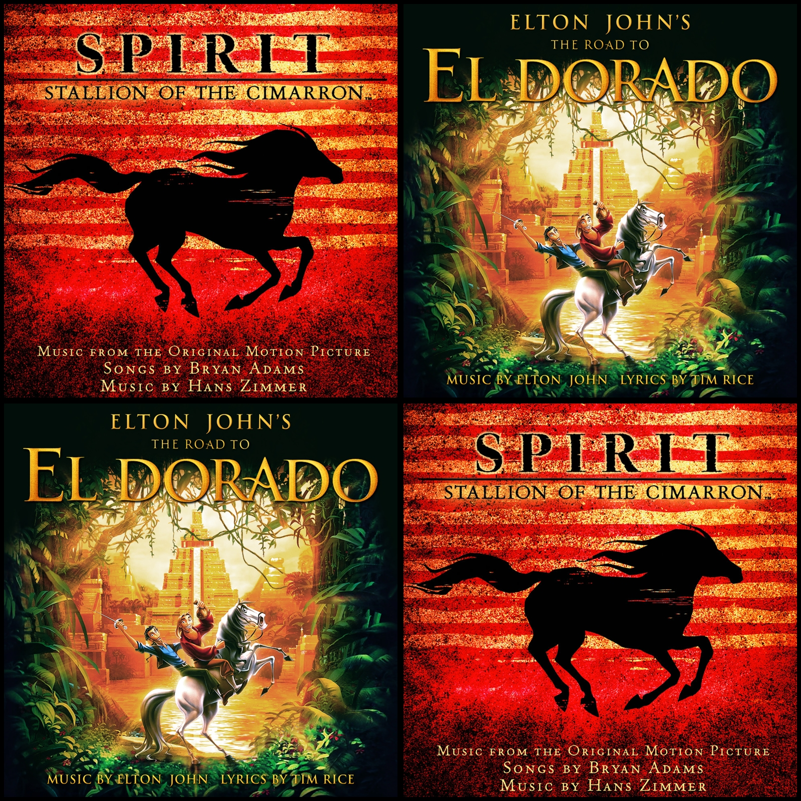 soundtrack spirit el corcel indomable latino
