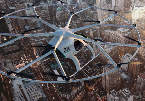 Tinuku Volocopter raised €25 million by Daimler and Lukasz Gadowski