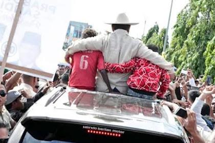 Ternyata Prabowo Punya 8.000 Anak Asuh di Papua