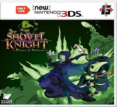 Shovel Knight Plague of Shadows Decrypted EUR