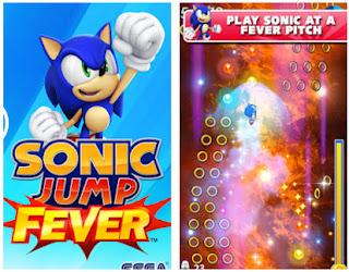 تحميل لعبة سونيك جمب فيفر Sonic Jump Fever القنفذ للأندرويد برابط مباشر مجانا