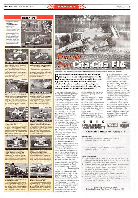 FORMULA ZERO, CITA-CITA FIA