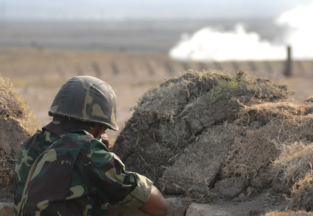 Azerbaiyán abre fuego hacia la carretera en el noreste de Armenia