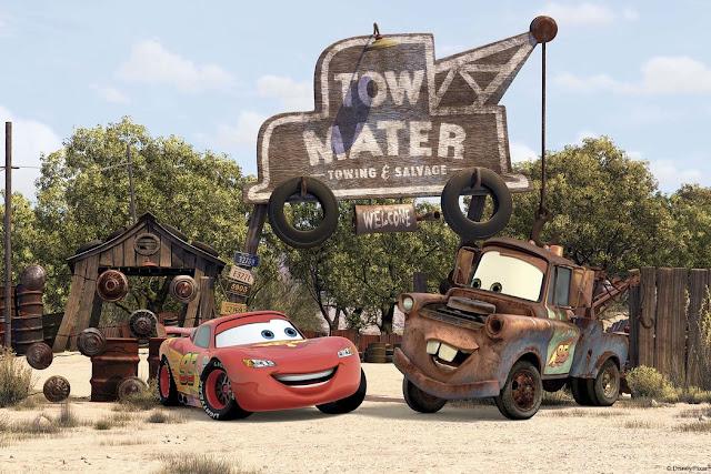 Disney Autot tapetti Cars Lapset Valokuvatapetti Lapsia