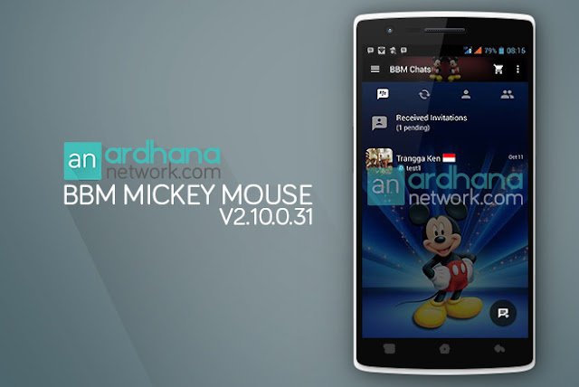 BBM Mickey Mouse