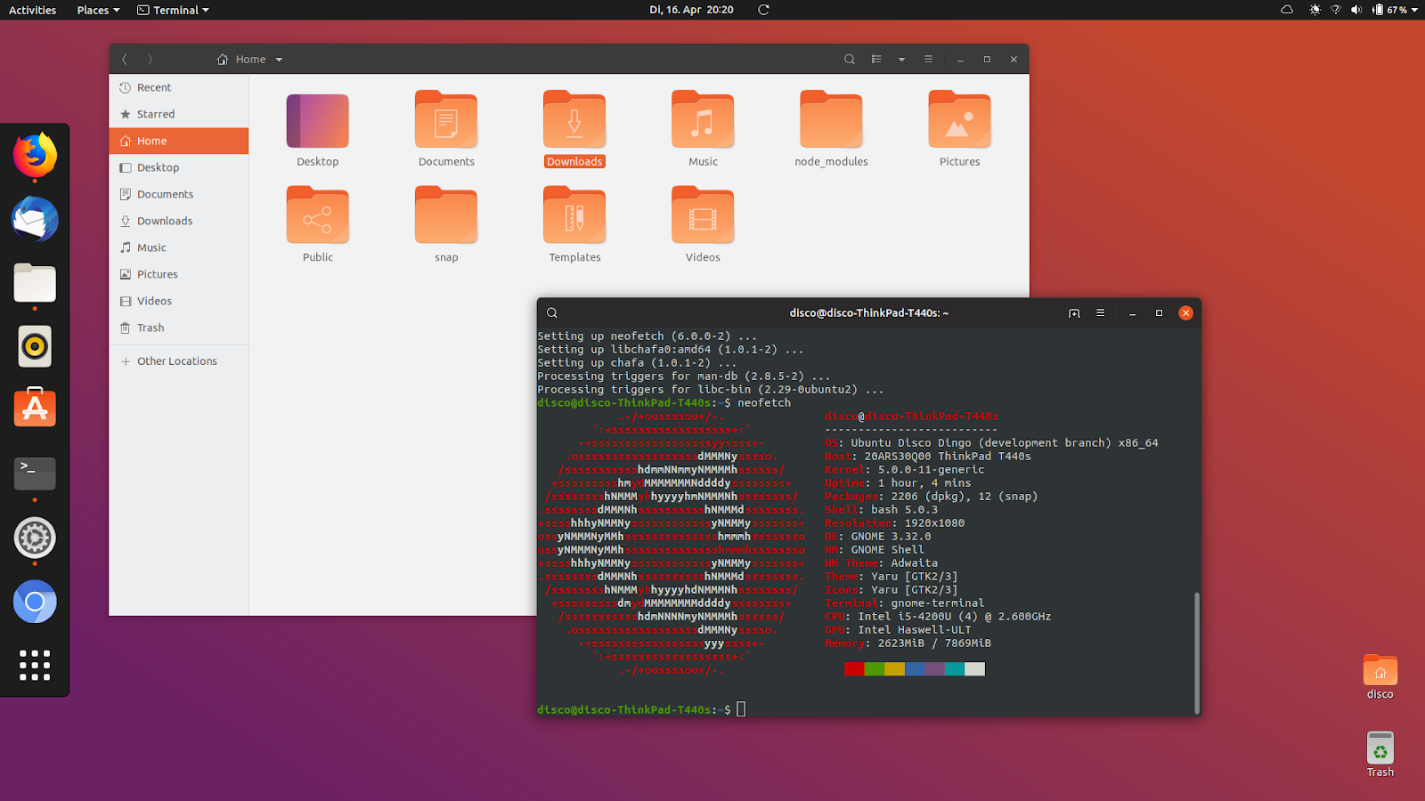 ubuntu 19.04 things to do after install