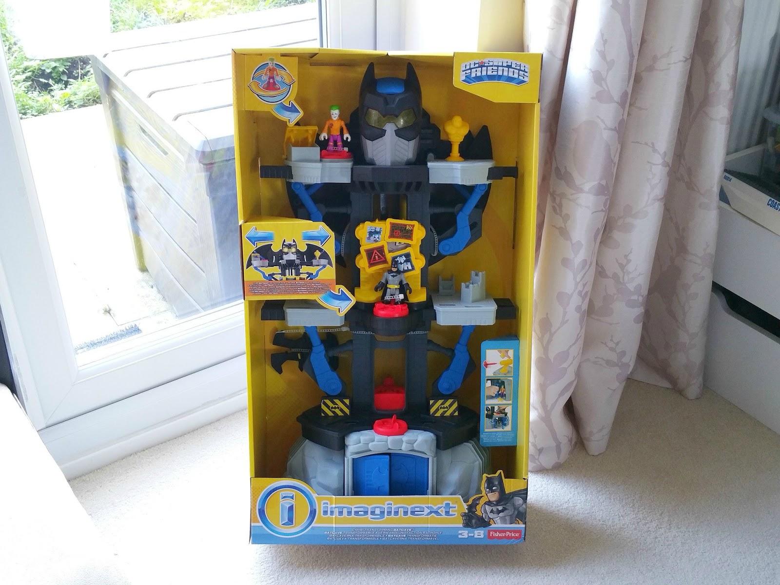 Christmas Batman gift, imaginext Transforming Batcave, Batman toy