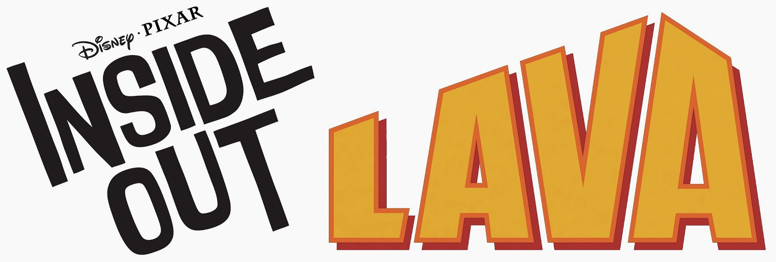 Pixar Inside Out and Lava Logo