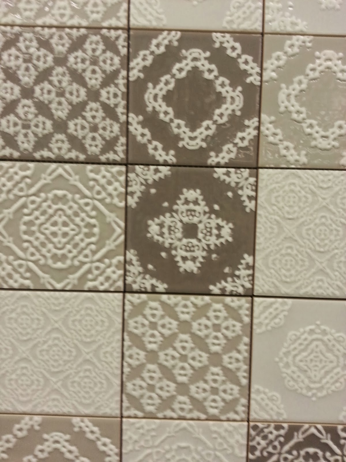 to da loos new tile alert patterned patchwork wall tiles