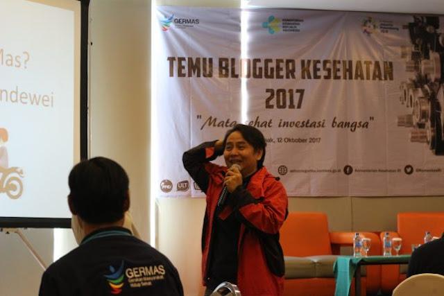 Temu Blogger Kesehatan Pontianak 2017