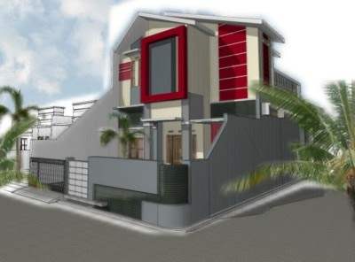 desain rumah hook sederhana