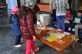 Biblioteca Nacional del Uruguay. Siembra de Libros Infantiles